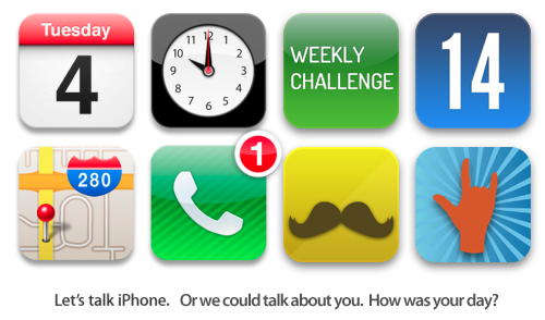 Weekly Challenge Number 14 - Let's Talk iPhone