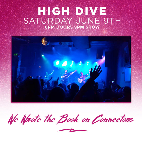 We Wrote the Book on Connectors at the High Dive